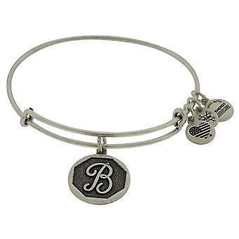 Alex and Ani Initial B Charm Bangle Bracelet - A13EB14BS