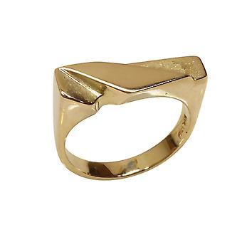 14 karaat heren gouden cachet ring