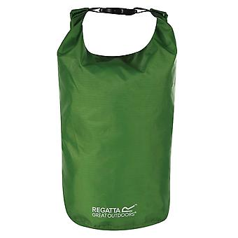 regatta 25l dry bag green waterproof taped seams for camping