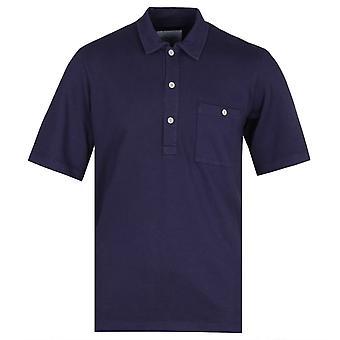 Camicia manica corta albam Cotton Navy Pullover