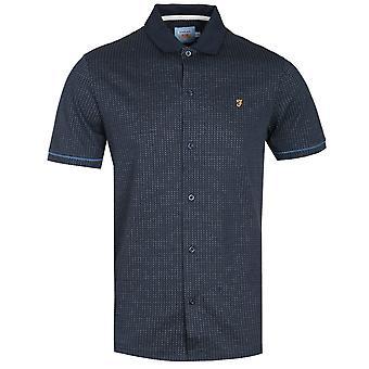 Farah Nino Regular Fit Navy Polo Shirt