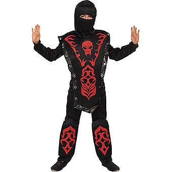 Kämpfer Kostüm Kinder Junge Ninja Fighter Kombat Warrior