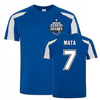 Mata Getafe Sport Utbildning Jersey (Blå)