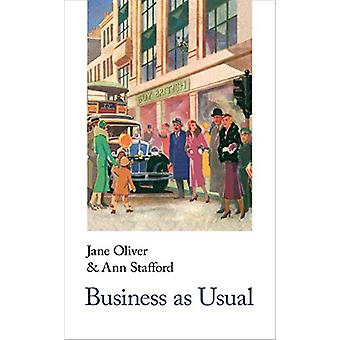 Business As Usual by Jane Oliver - 9781912766185 Book