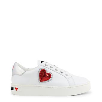 Chaussures de baskets en cuir femme lm68343