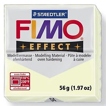 Staedtler Fimo Effect 8020-04 Oven Hardening Modelling Clay 56g - Nightglow