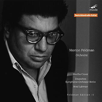 Morton Feldman - Morton Feldman: Orchestra [CD] USA import