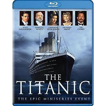 Titanic: Miniseries Event [Blu-ray] USA import