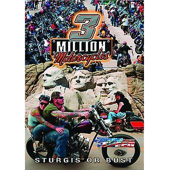 3 Million Motorcycles [DVD] USA import