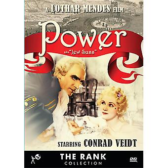 Power (Aka Jew Suss) [DVD] USA import