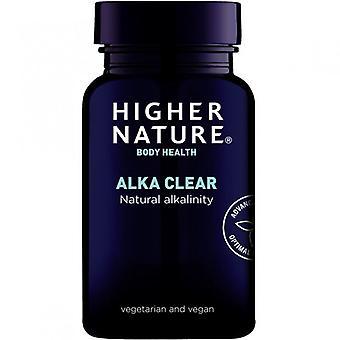 Higher Nature Alka-Clear Vegetarian Capsules 180 (ACC180)