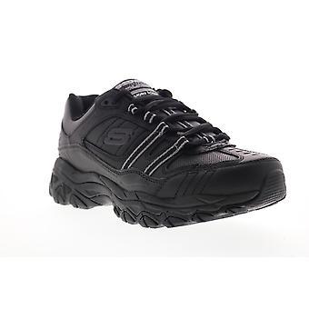 Skechers After Burn Memory Fit Strike On  Mens Black Cross Training Shoes