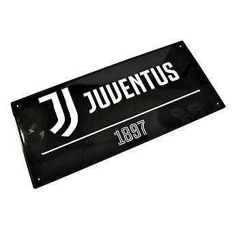 Juventus FC gatu skylt