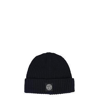Stone Island 7315n10b5v0020 Men's Blue Wool Hat