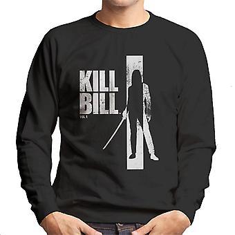 Kill Bill Beatrix Silhouette Men's Sweatshirt