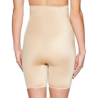 Marque - Arabella Women's Shine High Waist Thigh Control Shapewear avec...