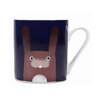Jolly Awesome Heat Changing Mug Rabbits new Official White Boxed