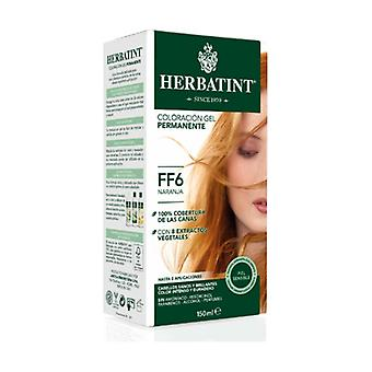 Color Permanent Gel Orange FF6 150 ml (Orange)