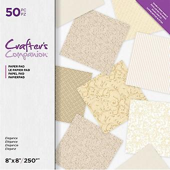 Crafter's Companion Elegance 8x8 Inch Paper Pad