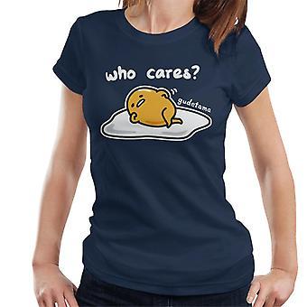 Gudetama Who Cares Women's T-Shirt