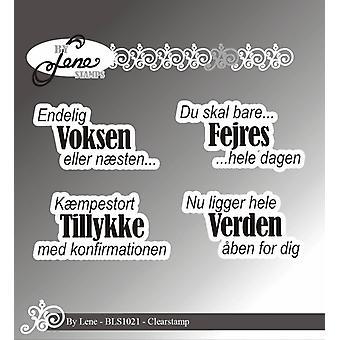 بواسطة لين الدنماركية نص واضحamp