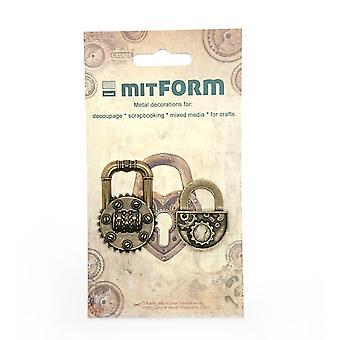 Mitform Padlocks 1 Metal Embellishments