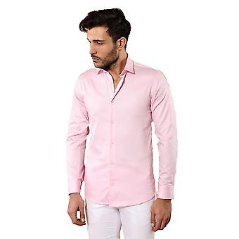 Pink cotton shirt | wessi