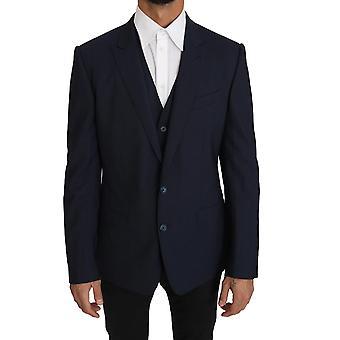 Dolce & Gabbana Bleiseriveli 2-osainen sininen villa Martini KOS1220-1