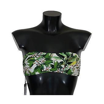 Dolce & Gabbana Chamomile Print Bikini Top BIK070-1
