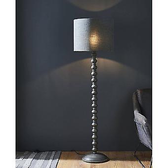 Endon Joss - 1 piso claro de madera de lavado gris oscuro claro (solo base), E27