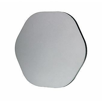 Inspirert Mantra Fusion - Bora Bora - Vegglys 14.4cm Sekskantet 6W LED 3000K, 540lm, Sølvmaling