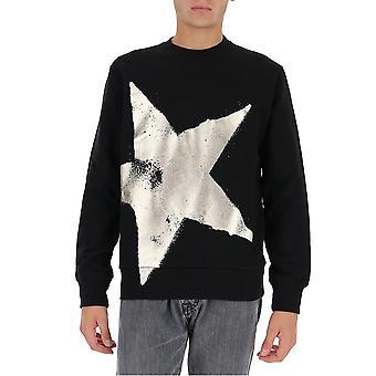 Goldene Gans Gmp00469p00029890200 Männer's schwarze Baumwolle Sweatshirt