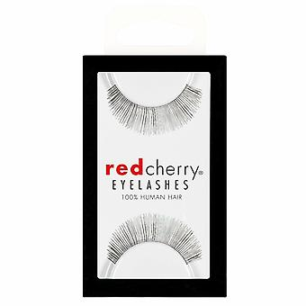 Red Cherry False Eyelashes - #606 Annabelle - Perfect Curl Handmade Lashes