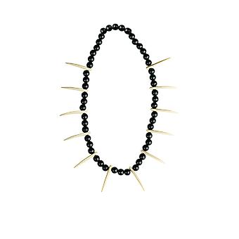 Witch Doctor Tooth Necklace Fancy Dress Costume Accessory