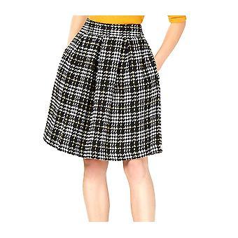 Maison Jules | Tweed Pleated Skirt