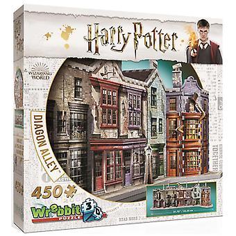 Wrebbit 3D Harry Potter: Diagon Alley (450pc)