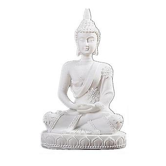 Nature Sandstone India Buddha Statue - Fengshui Sitting Buddha Sculpture