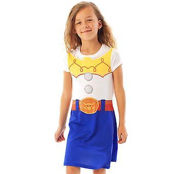 Disney Pixar Toy Story Jessie Girls Kids Cosplay Outfit Dress