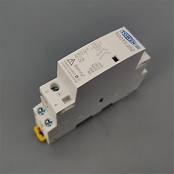 Toct1 2p 25a Dc 12v 24v Spule 220v/230v 50/60hz Din Rail Haushalt Ac Modular