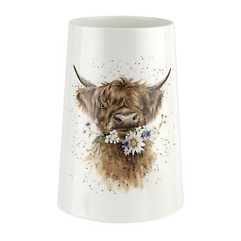 Wrendale Designs Daisy Cow Large Vase