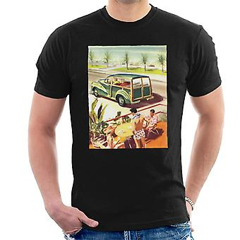 Morris Traveller Summer British Motor Heritage Men's T-Shirt