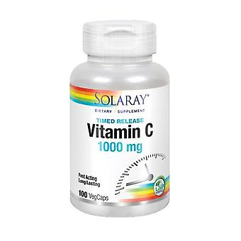 Solaray C-vitamin, 1 000 mg, 100 kepsar