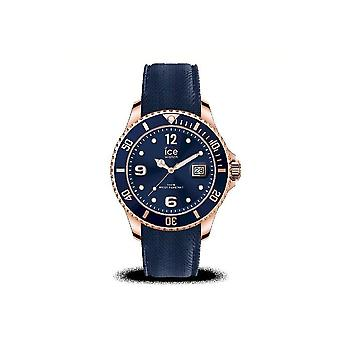 Ice Watch - Armbanduhr - Herren - ICE steel - Blue rose-gold - Large - 3H - 017665
