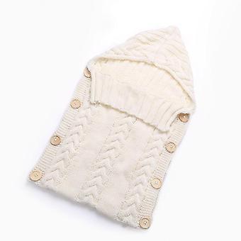 حديث الولادة الطفل لطيف محبوك الكروشيه مقنعين، أكياس النوم- الأطفال مداعبات التفاف