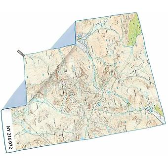 lifeventure softfibre os map towel giant scafell pike