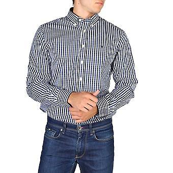 Hackett hm305379 masculino e camisa de mangas compridas