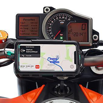 Iphone 11 impermeabil hard caz motocicleta de top clemă mount