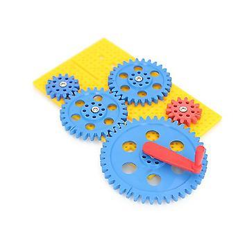 Gear Set- Gear Splicing / Building Blocks Plastic Assembly,'s Puzzle Assembling