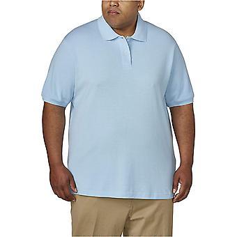 Essentials Mænd & APOs; s Big & Tall Cotton Pique Polo Shirt passer ved DXL, Light ...