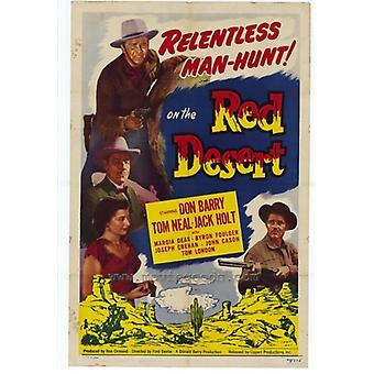 Red ørkenen film plakatutskrift (27 x 40)
